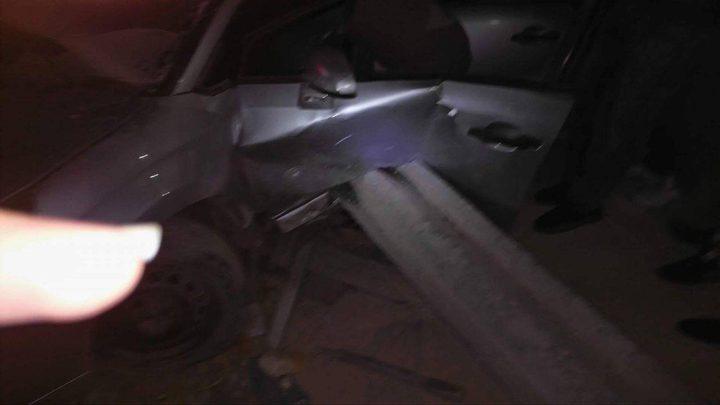 إصابة جراء حادث سير عند بلدة رافات