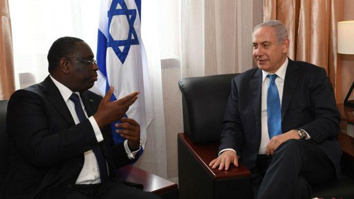 الإعلان عن انتهاء الأزمة بين إسرائيل والسنغال