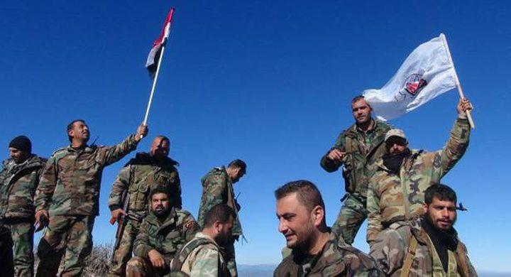 الجيش السوري يستعيد 1400 كم2 من أراضي البادية خلال يوم