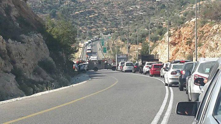 وفاة مواطنة من نابلس وإصابة اربعة آخرين في حادث سير