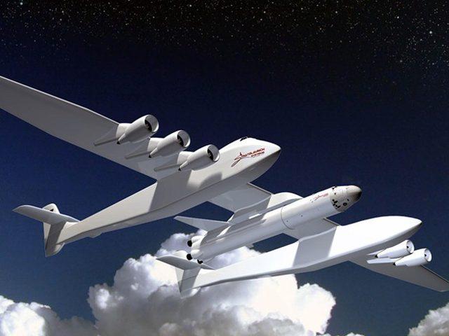 أمريكا تكشف عن أكبر طائرة في العالم
