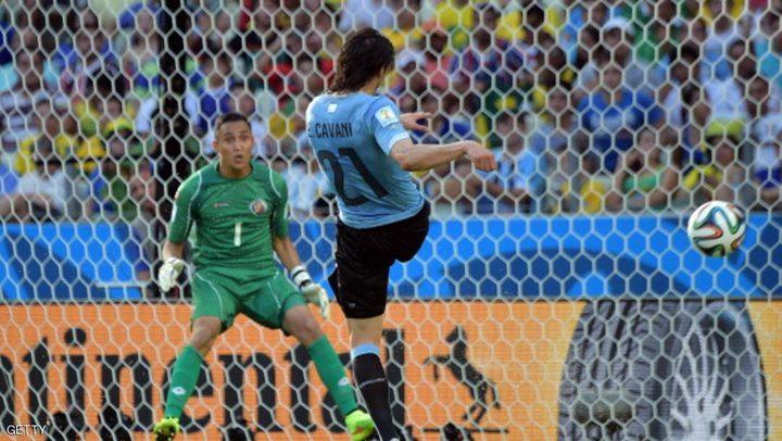 الإصابة تهدد مشاركة كافاني أمام إيطاليا