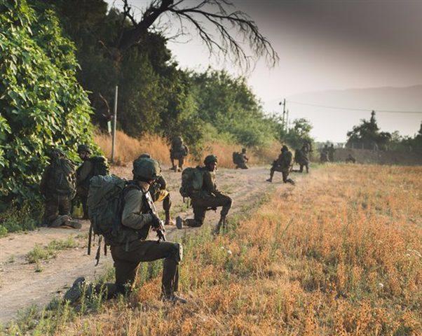 مناورات إسرائيلية مفاجئة على الحدود مع لبنان