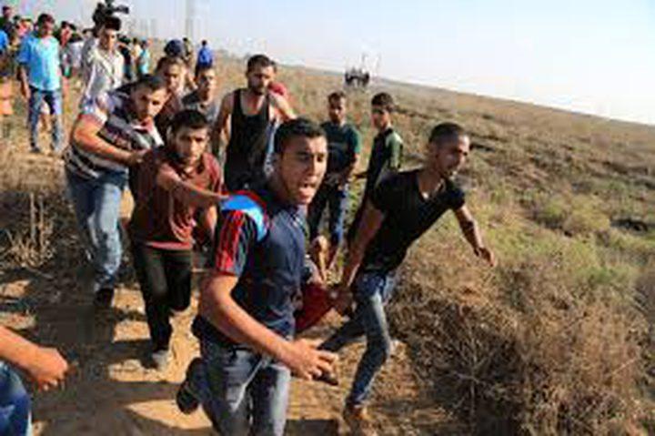 5 إصابات في مواجهات مع الاحتلال شرق قطاع غزة