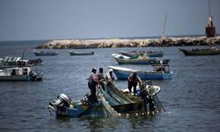 توسيع مساحة الصيادين في غزة