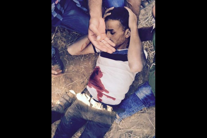 سبع إصابات في مواجهات على حدود غزة