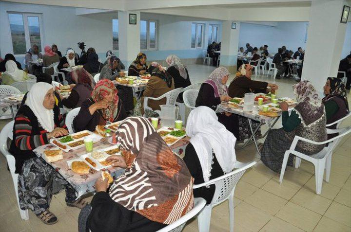 قرية تركية يلتقي سكانها على مائدة إفطار واحدة منذ 15 عاما