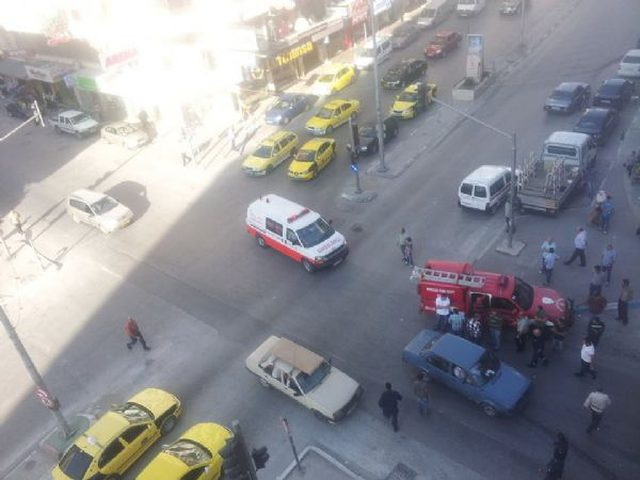 خمس إصابات في حادث سير في نابلس