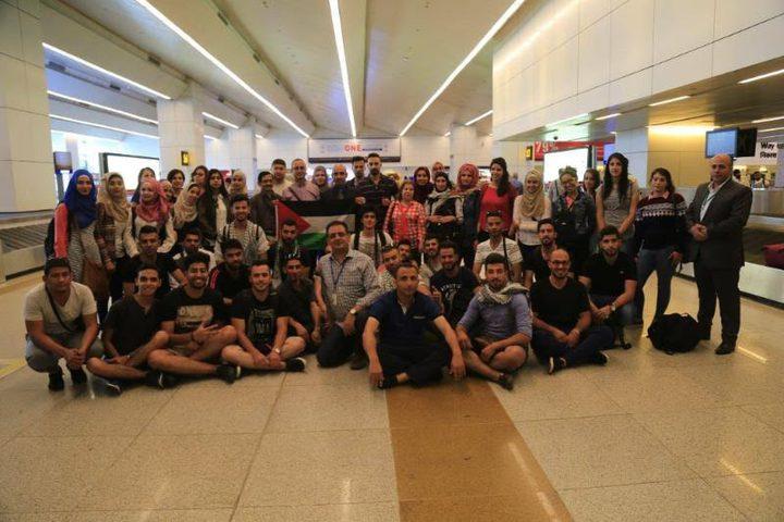 وفد طلابي من النجاح يشارك في الملتقى الفلسطيني الهندي