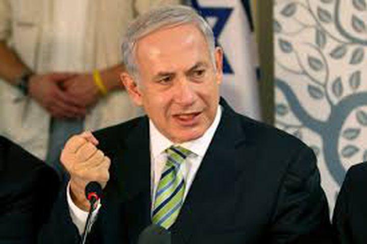 نتنياهو: سنحتفظ بسيطرتنا العسكرية على الضفة في اي تسوية