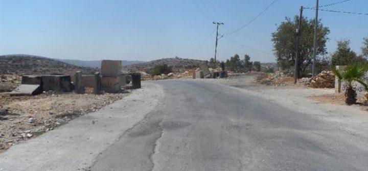 بيت لحم: الاحتلال يخطر بوقف تعبيد شارع