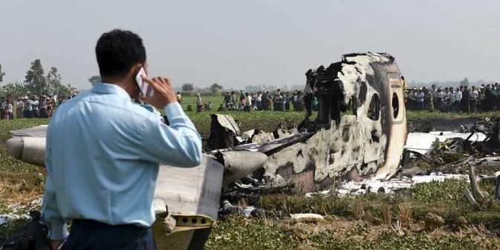 العثور على حطام من الطائرة البورمية المفقودة