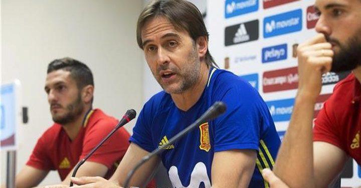لوبيتيجي يوضح حقيقة الخلافات بين لاعبي ريال مدريد وبرشلونة