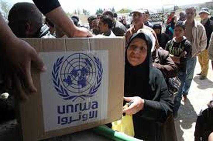 """""""الأونروا"""": نعمل لتوفير سبل الراحة للاجئين الفلسطينيين بسوريا"""
