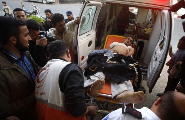 إصابة مواطن جراء انفجار العاب نارية في كفر عقب