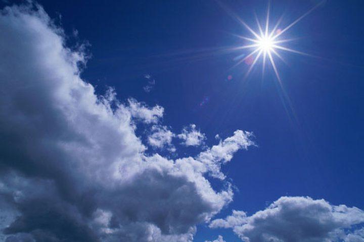 الطقس: الحرارة أعلى من معدلها السنوي بست درجات