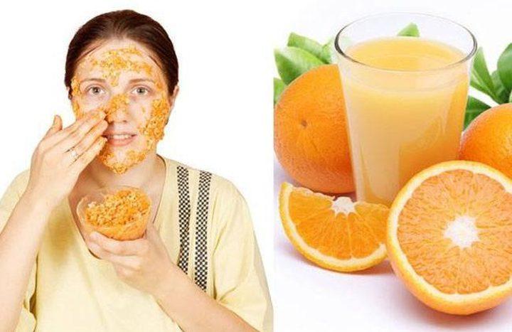 قشر البرتقال لبشرة متألقة