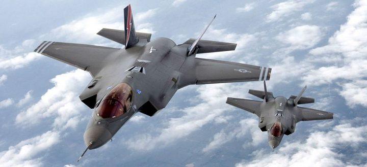 """إسرائيل تستكمل شراء 50 طائرة """"F-35"""" الشبح"""