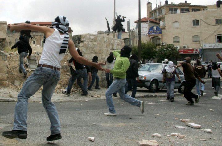 اصابة شابين بمواجهات مع الاحتلال جنوبي بيت لحم
