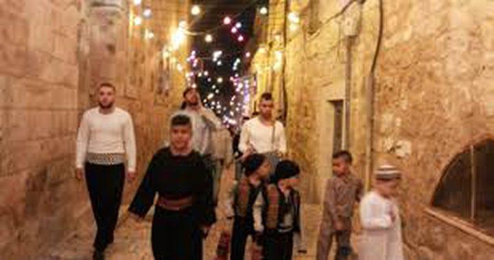 الاحتلال يحرر مخالفات لفرقة المسحراتي المقدسية