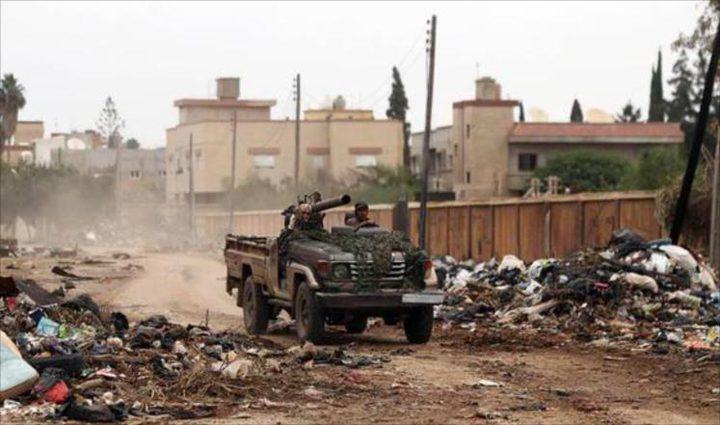 قوات حفتر تتهم كتائب القسام لواء خانيونس بالتخريب في ليبيا (فيديو)