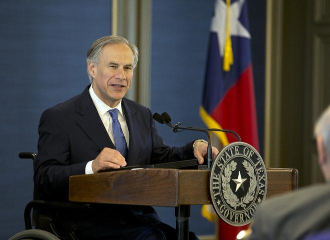 حاكم تكساس يجدد دعمه لإسرائيل