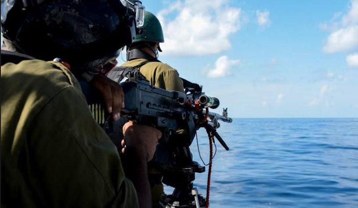 الاحتلال يستهدف الصيادين شمال غرب غزة