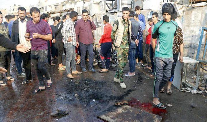 عشرات القتلى والجرحى بتفجير جنوب بغداد