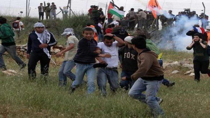 الاحتلال يقمع مسيرة كفر قدوم السلمية