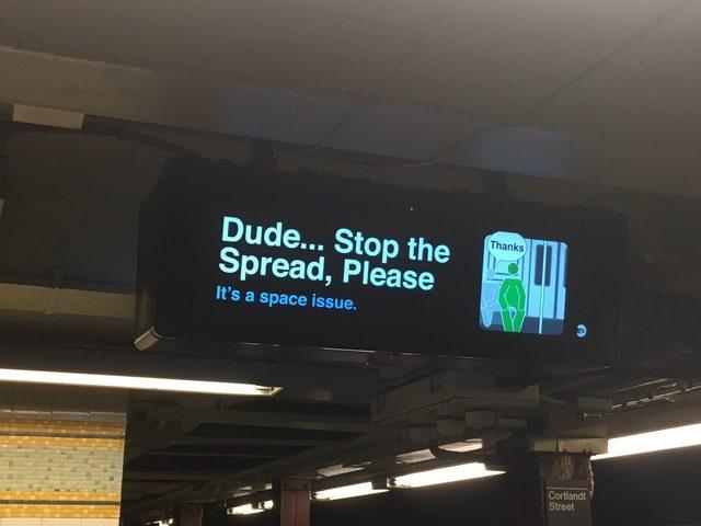 مدريد تحظر على الرجال الجلوس بهذه الوضعية في المواصلات العامة