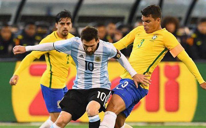 فوز ودي للأرجنتين على البرازيل (1-0)
