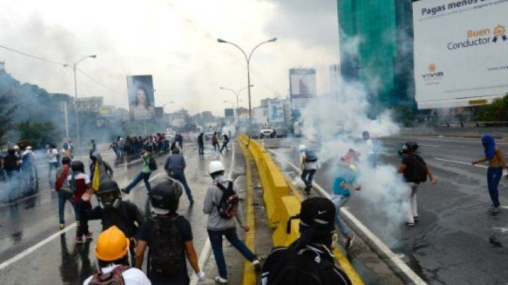 فنزويلا: مظاهرة جديدة مناهضة للرئيس في كراكاس