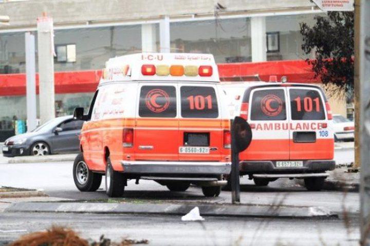 خمس إصابات جراء حادث دهس داخل حسبة جنين