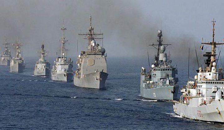 سفينتان حربيتان إيرانيتان تتوجهان صوب سواحل الخليج