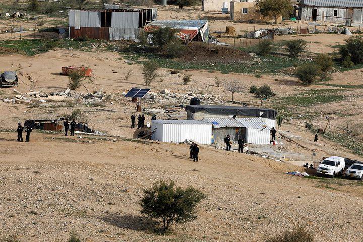 الاحتلال يقتحم قرية أم الحيران بالنقب