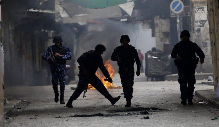 اشتباكات في مخيم بلاطة شرق نابلس