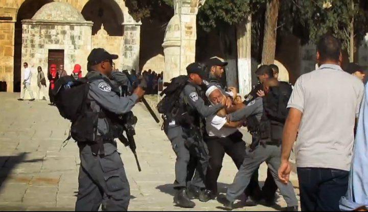 الأوقاف تنفي رواية الاحتلال حول مساعدة الحراس في الاعتقال