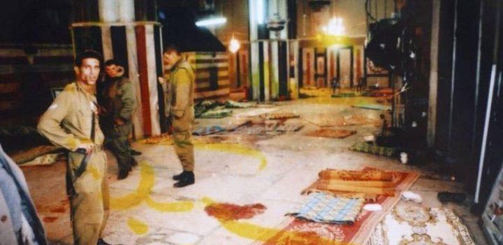 23 عامًا على مجزرة الحرم الإبراهيمي
