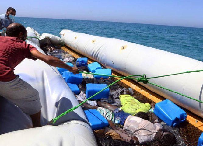 قتلى وعشرات المفقودين المهاجرين قبالة السواحل الليبية