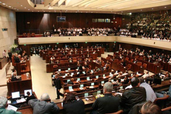 مشروع قانون يجبر الوزراء على الاستقالة من عضوية الكنيست