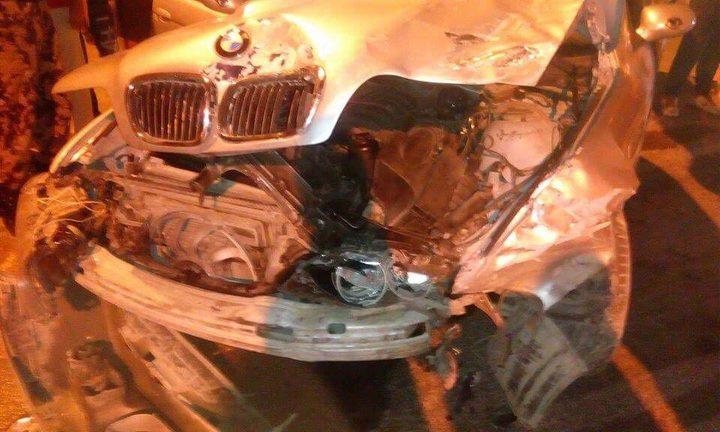 ثلاث إصابات إثر حادث سير في طولكرم