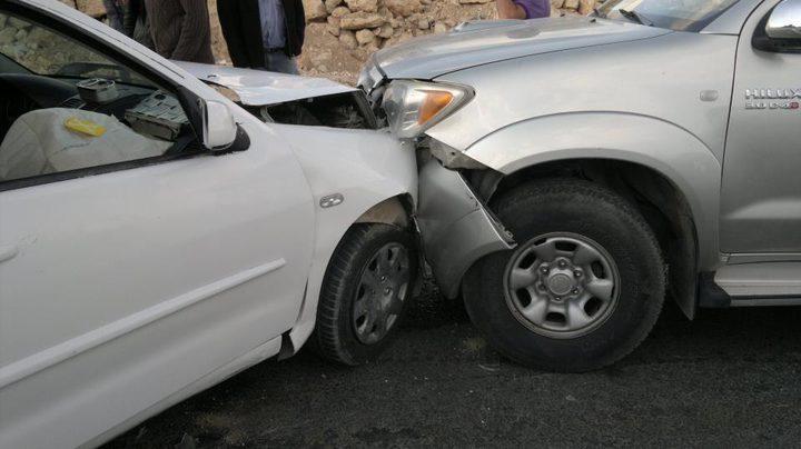 إصابتان جراء حادث سير في قلقيلية