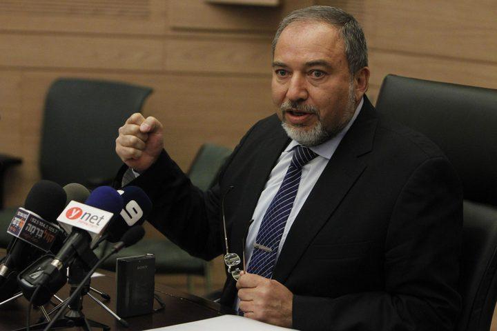 ليبرمان: الكرة في ملعب حماس وعليها أن تقرر ما تريد