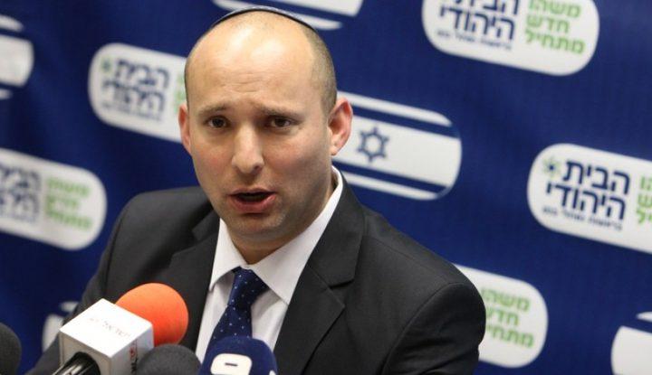 بينيت: القدس تحت السيادة الاسرائيلية افضل من اتفاق السلام
