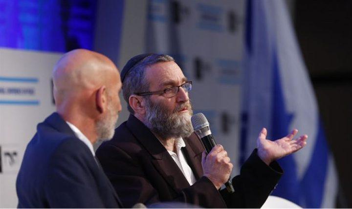 سياسي إسرائيلي: الفلسطينيون كانوا قبلنا في هذه البلاد وطردناهم
