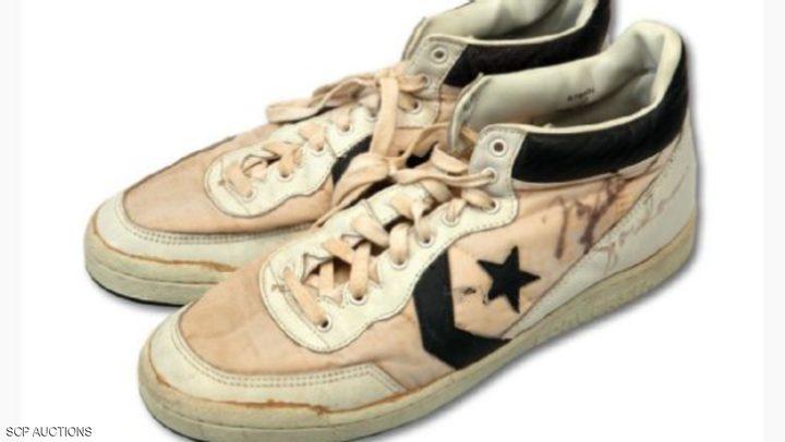 سعر فلكي لحذاء قديم لمايكل جوردان
