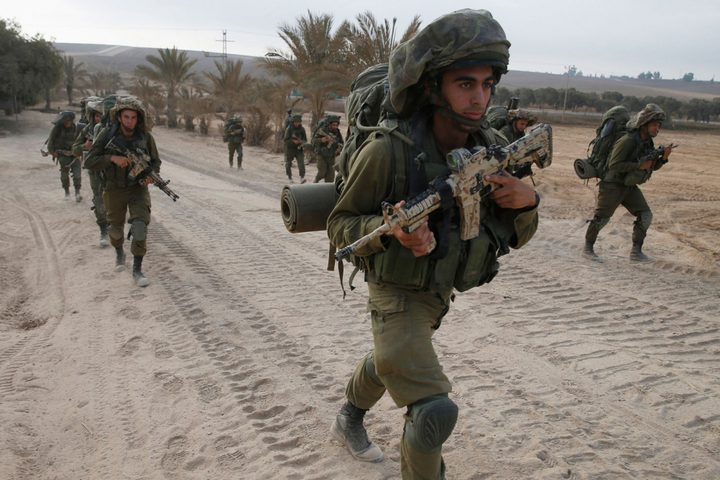 سرقة حقائب جنود اسرائيليين أثناء تدريبهم