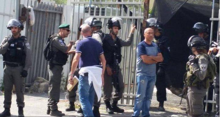 اعتقال شقيقين في سلوان