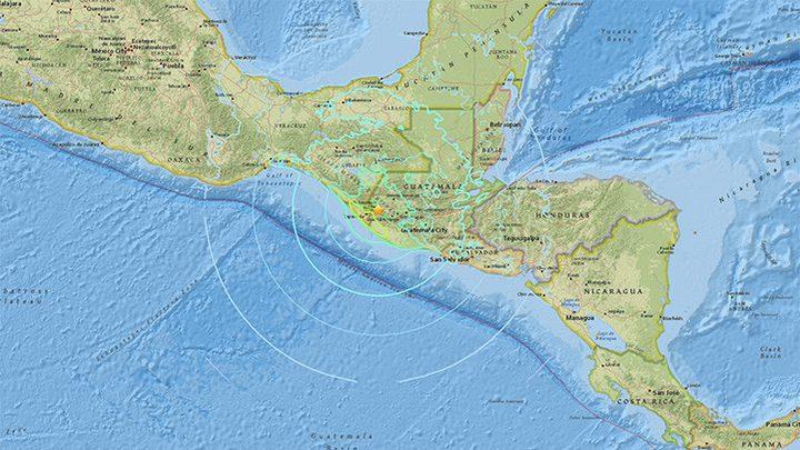 زلزال يضرب منطقة حوض الكاريبي بقوة 7 درجات (صور)