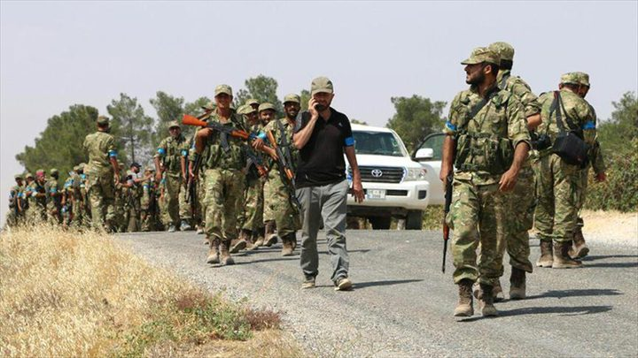 30 قتيلا من قوات درع الفرات في ريف حلب